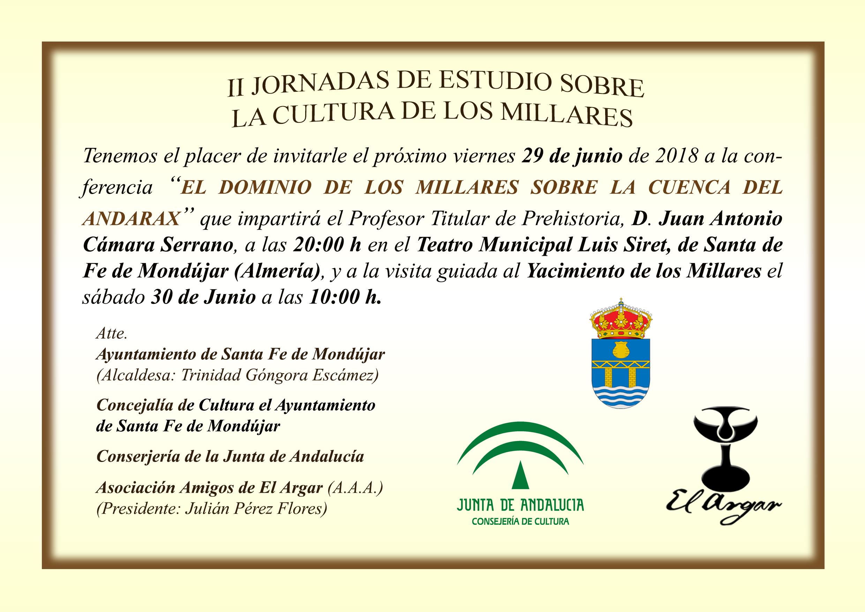 Invitación Millares Junio 2018