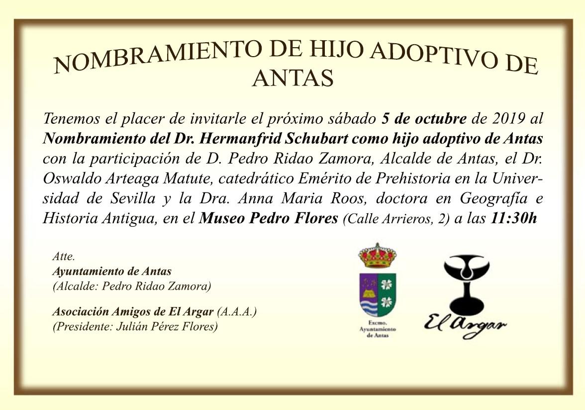 invitacion Antas